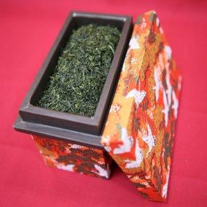 画像1: 高級ミニ茶箱入り 伊勢茶ギフト